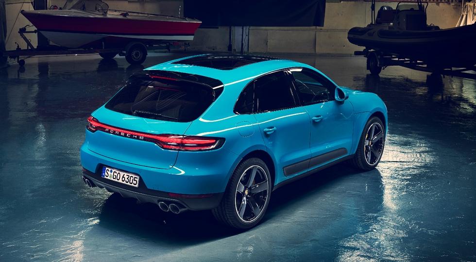 Porsche официально представила обновленный кроссовер Porsche Macan