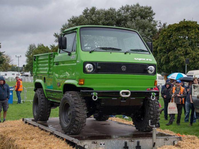 Из старого Volkswagen Т3 создали необычный внедорожник