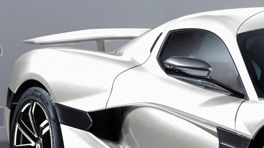 Электрокар от Porsche и Rimac показали на первых рендерах