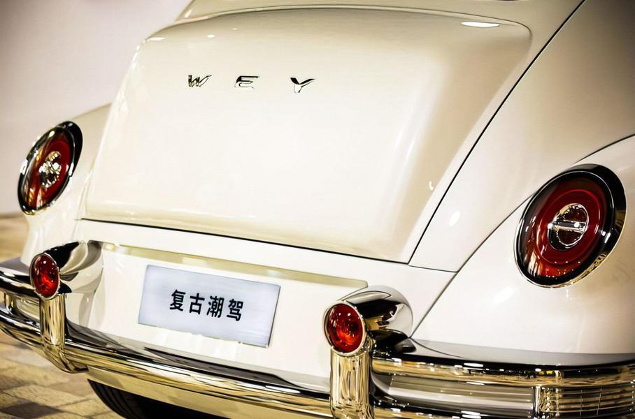 Китайская компания Great Wall выпустила концепт ретрокара под брендом Wey