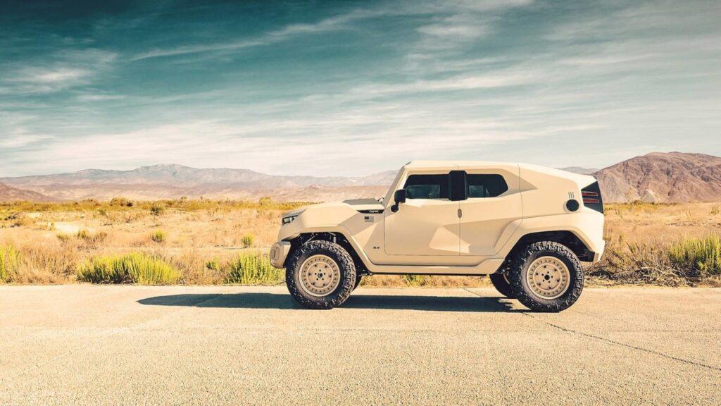 Внедорожник Rezvani Tank получил военную версию Tank Military Edition