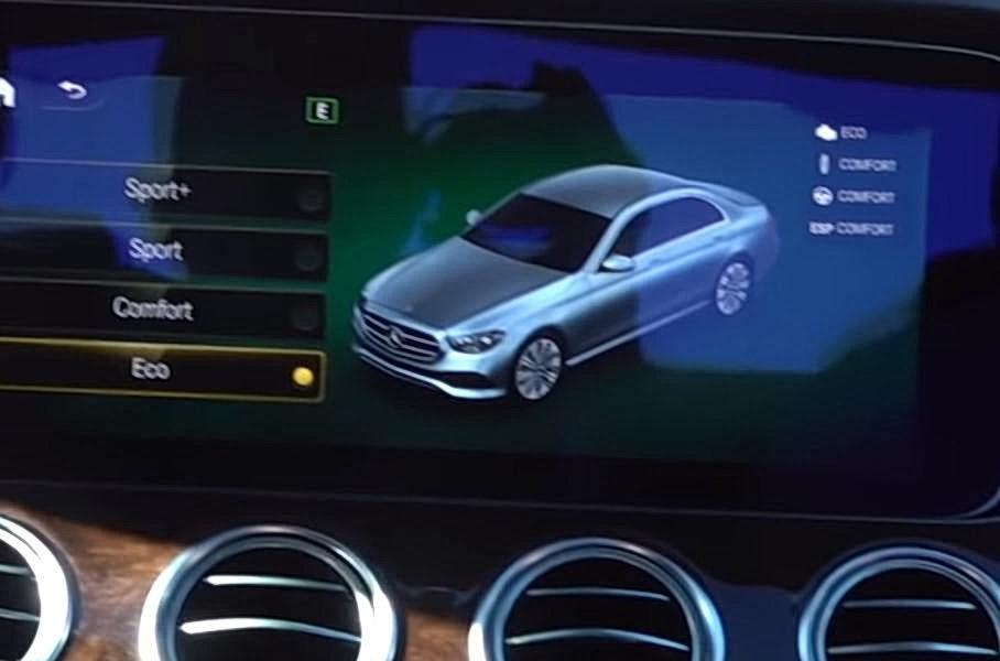Mercedes-Benz раскрыл на видео обновленный E-Class