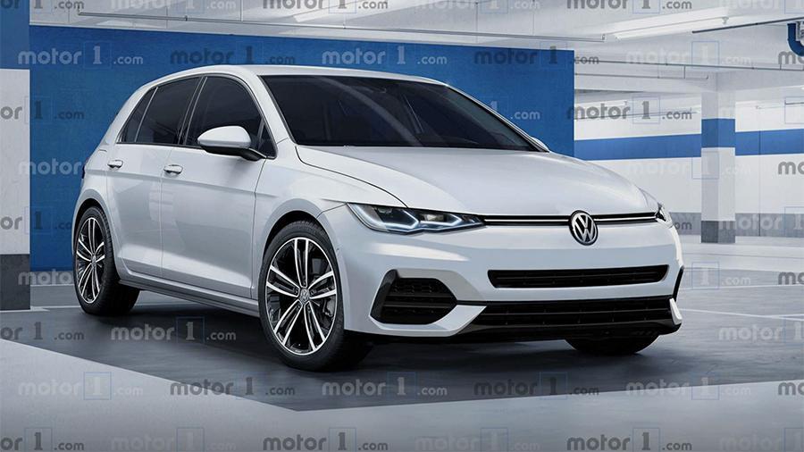 Volkswagen Golf нового поколения представят 24 октября