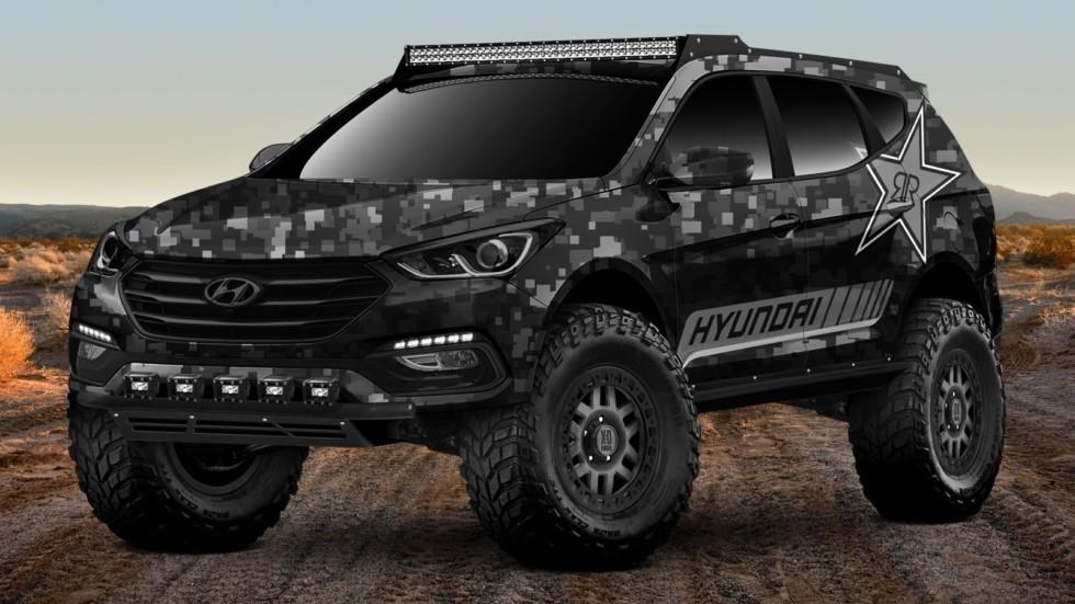 Hyundai покажет экстремальный внедорожник на базе Santa Fe Sport