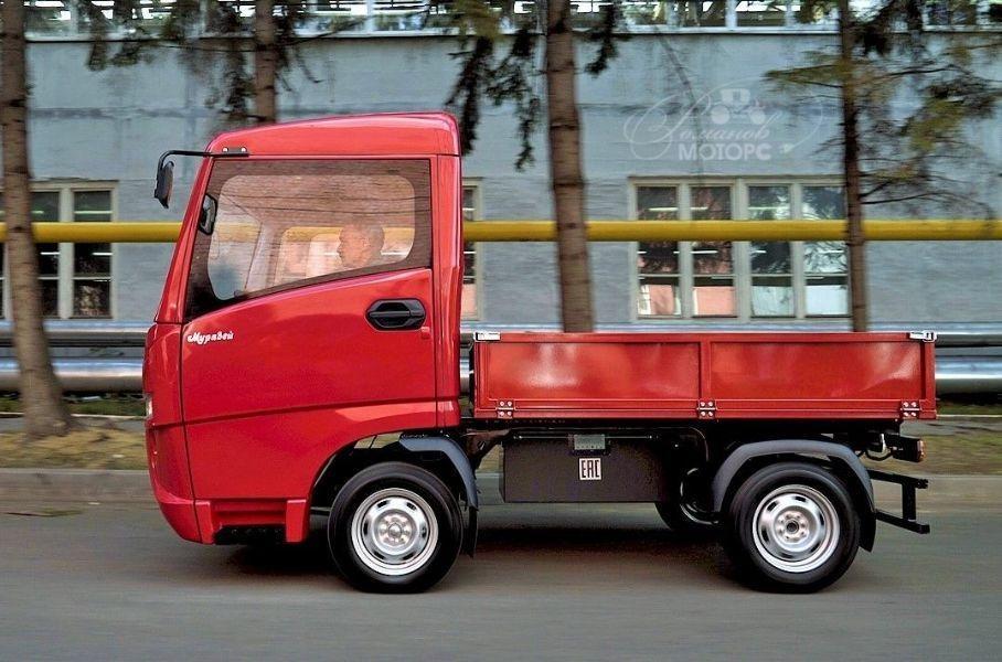 В РФ начались продажи электрического грузовика «Муравей»