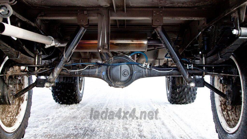 Внедорожник Lada 4x4 получил «злую» модификацию