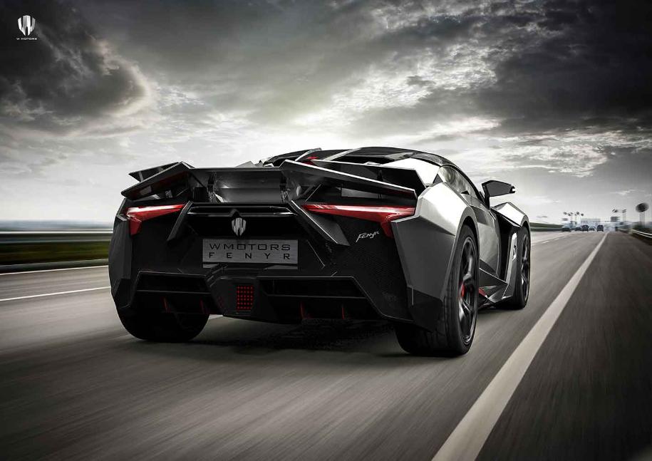 Компания W Motors начала производство нового гиперкара Fenyr SuperSport