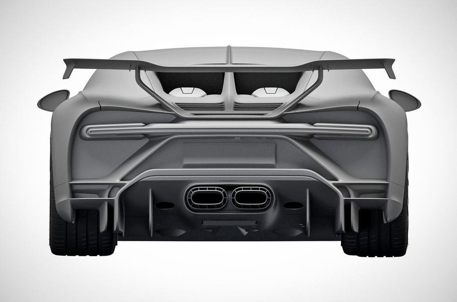 1500-сильный гиперкар от Bugatti за 300 млн рублей запатентован в РФ