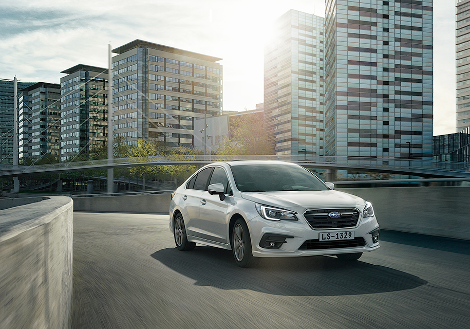 Седан Subaru Legacy вернется в Россию и получит один мотор