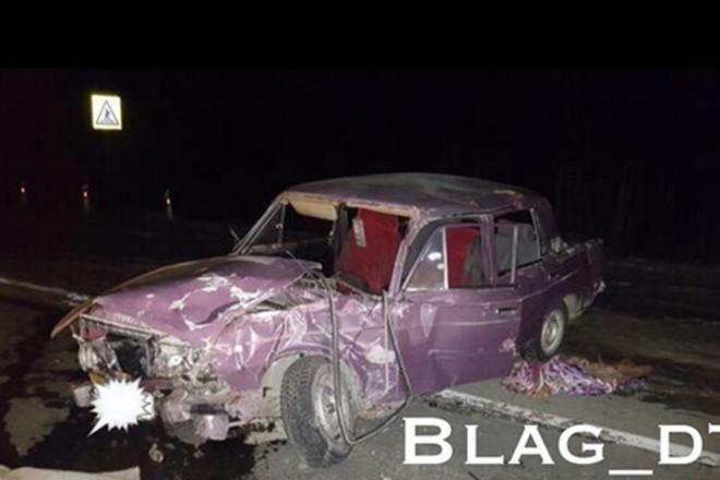 В Магдагачинском районе произошло серьезное ДТП двух автомобилей