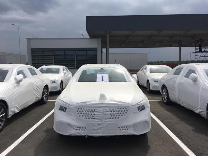 Первые седаны Mercedes-Benz E-Class выпущены в России