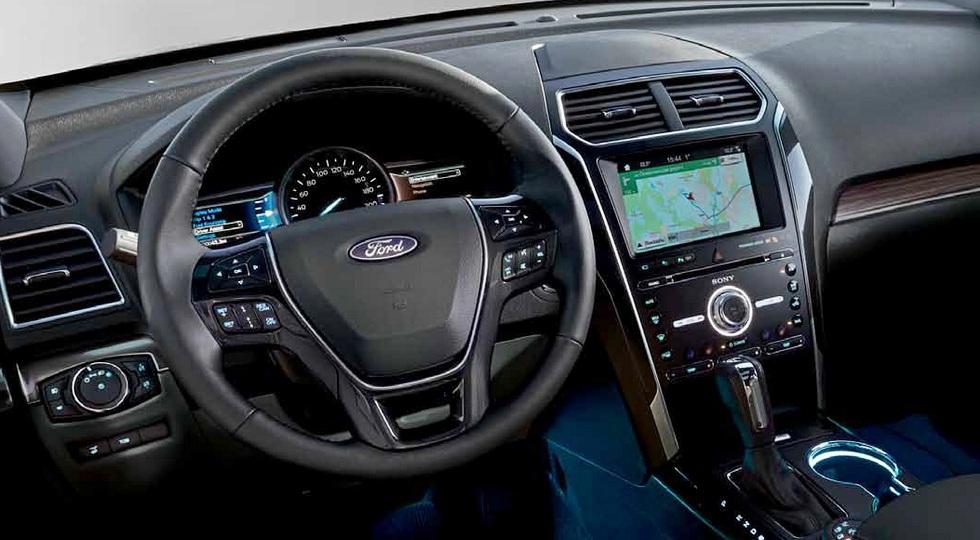 Ford назвала российские цены на обновленный Ford Explorer