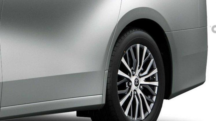 Появились первые изображения премиального минивэна Lexus