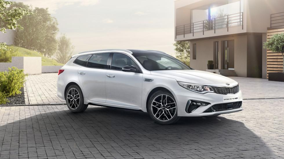 KIA официально представила обновленную версию Kia Optima