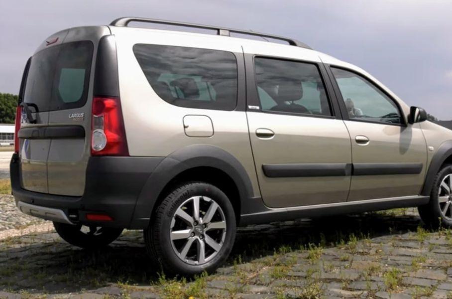 АвтоВАЗ выведет на рынок самую дорогую Lada Largus Cross 1 сентября