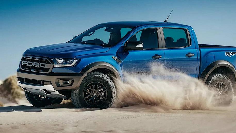 Ford представила пикап Ford Ranger в самой «злой» версии
