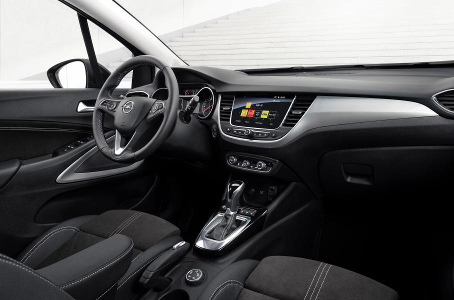 Продажи обновлённого кроссовера Opel Crossland от 1,699 млн рублей стартовали в РФ