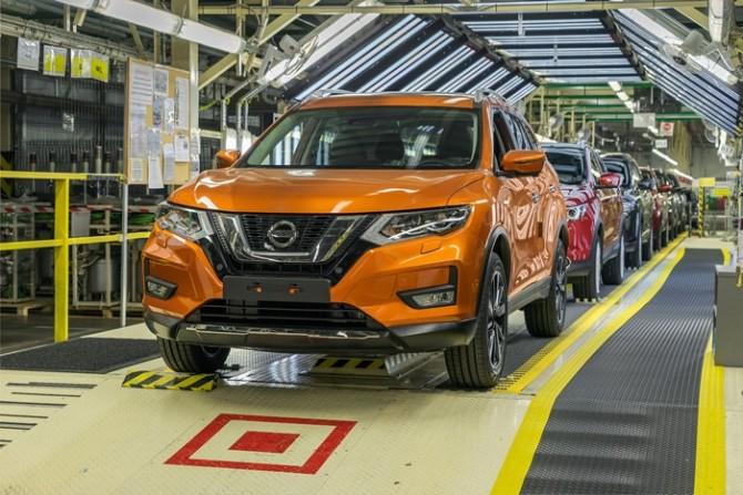 Nissan начал тестовую сборку обновленного Nissan X-Trail в Санкт-Петербурге
