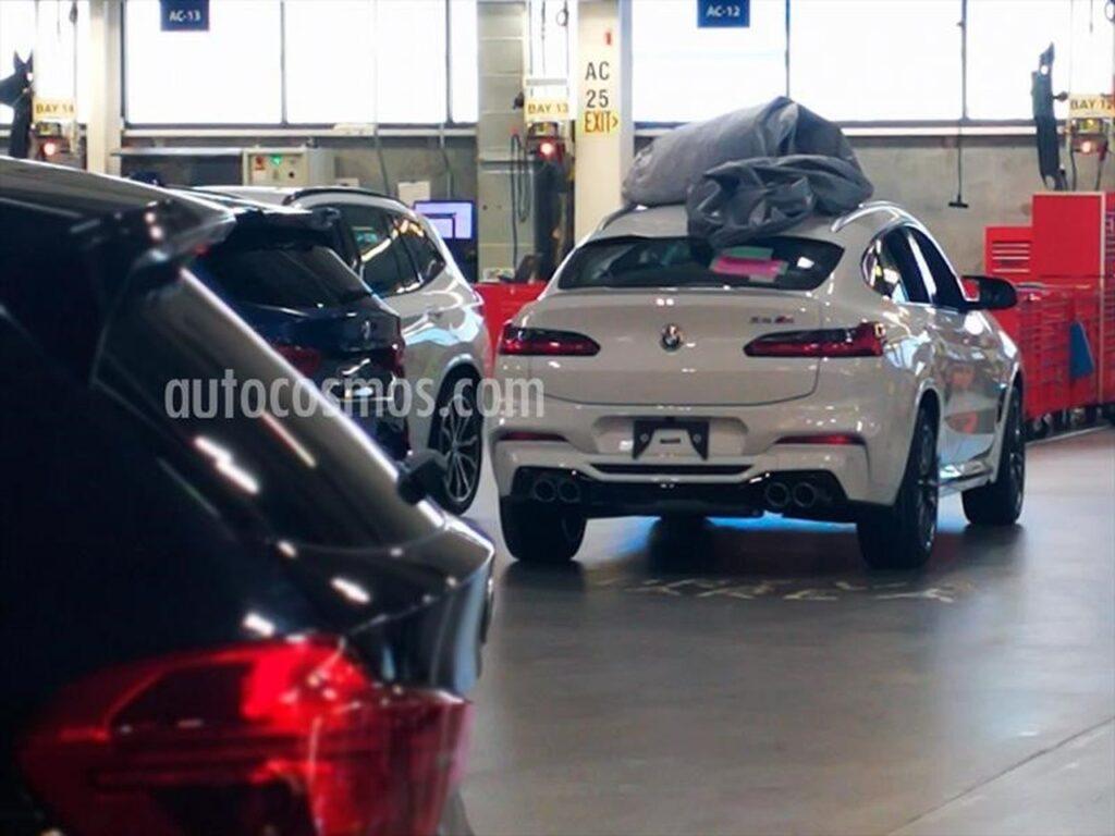 """BMW готовится к выпуску """"заряженного"""" кросс-купе BMW X4 M"""