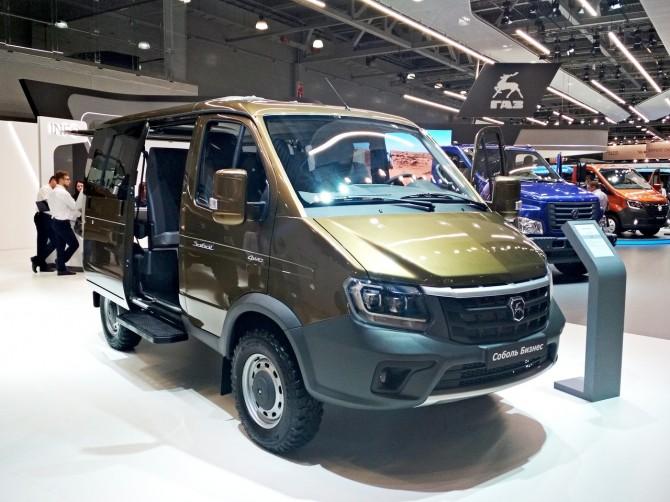 ГАЗ представил модернизированный внедорожник Соболь 4х4