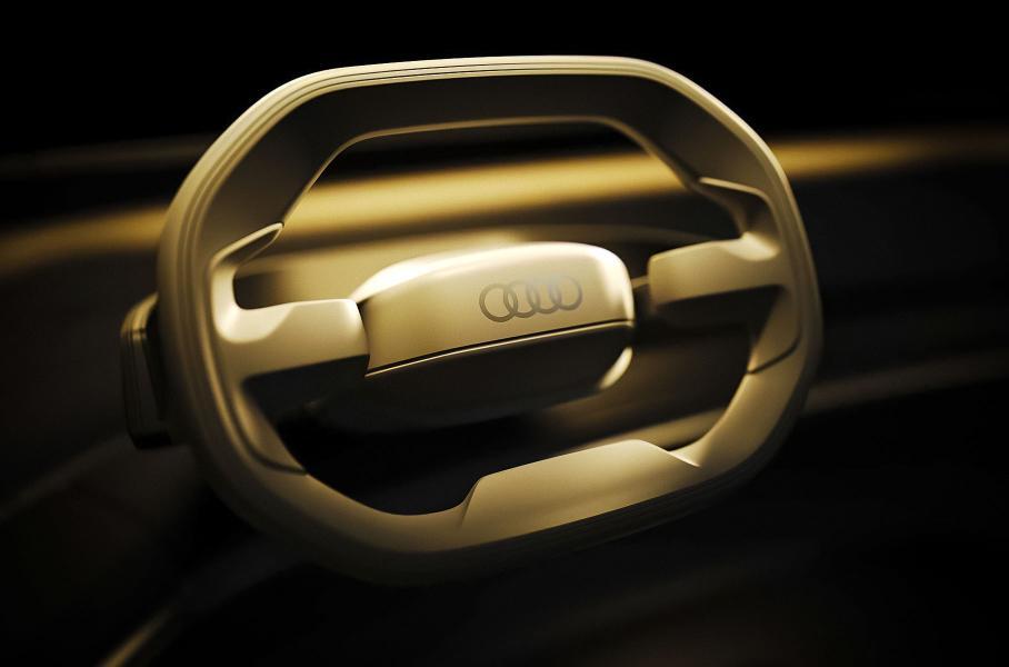 Audi показала премиальный электрический концепт-кар Audi Grand Sphere
