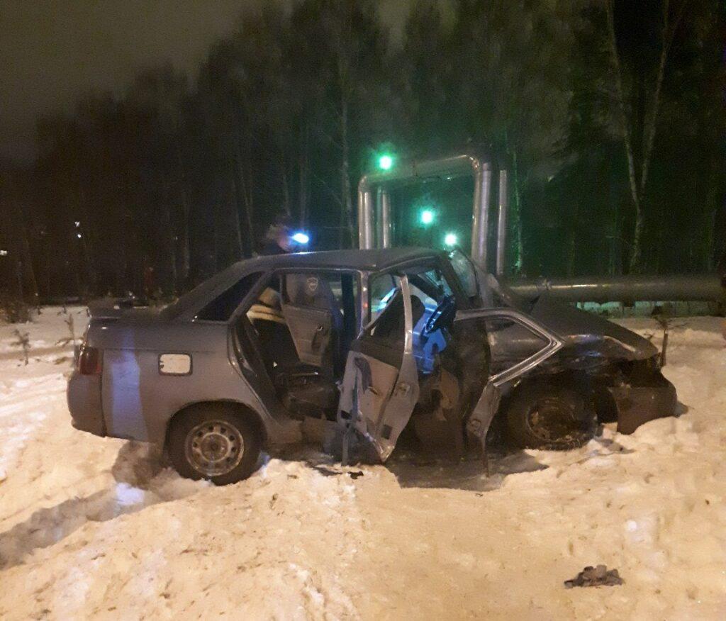 Три человека пострадали в ДТП «ВАЗ 2110» и Hyundai в Кемерове