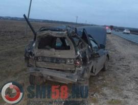 В Пензенской области в ДТП «ВАЗ 2111» и фуры пострадал человек