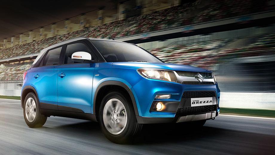 Toyota выпустит кроссовер Suzuki Vitara Brezza под своим брендом