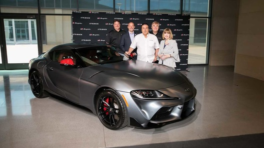 Первый экземпляр Toyota Supra за 132 млн рублей передали клиенту