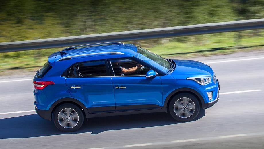 Кроссовер Hyundai Creta в ноябре остался бестселлером бренда в РФ