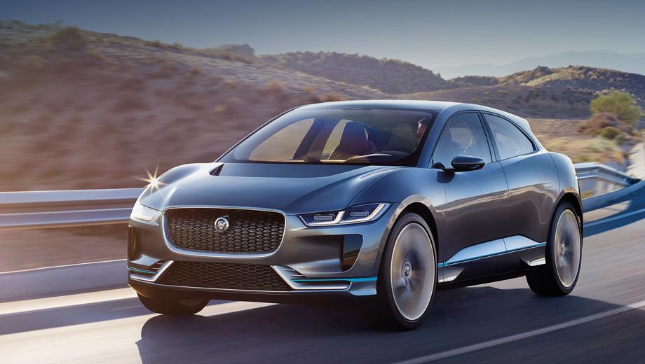 Jaguar пригласила потенциального клиента прокатится на новом Jaguar I-Pace
