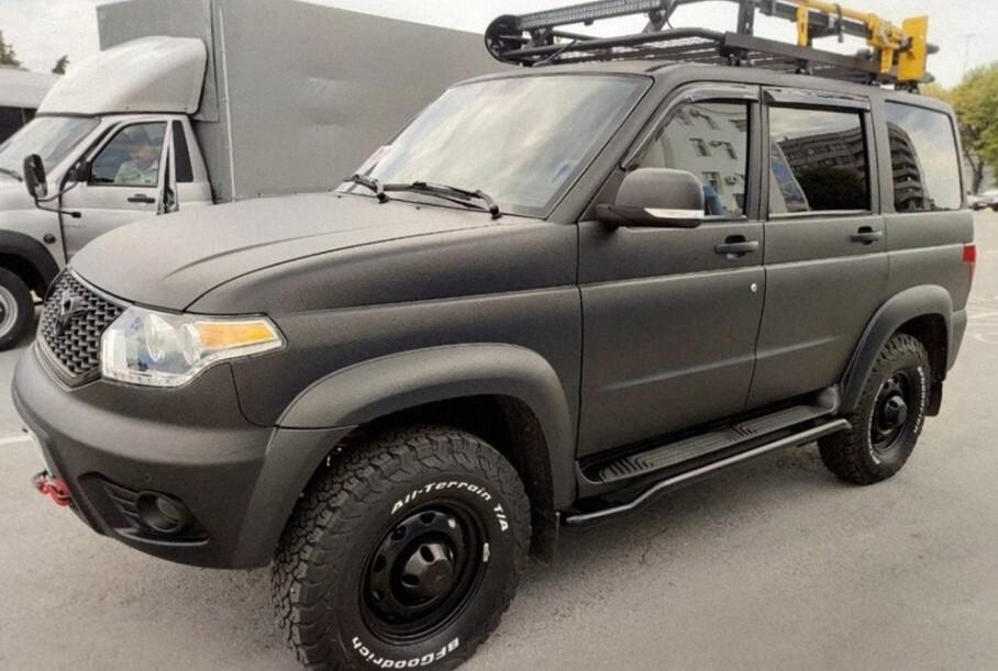 Ульяновский автозавод представил внедорожник «Патриот» в версии «Охотник»