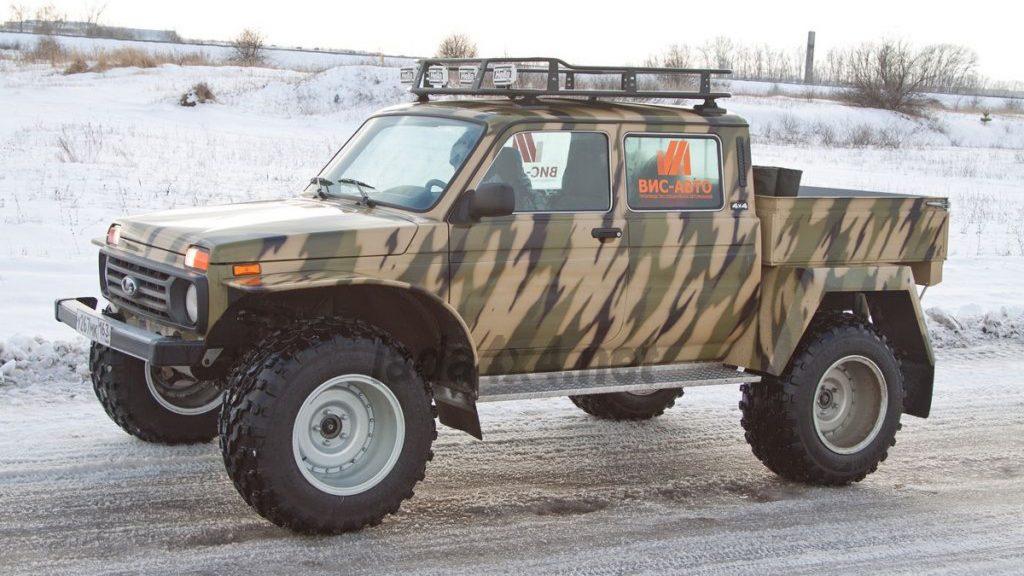Началось производство внедорожного пикапа Lada 4x4