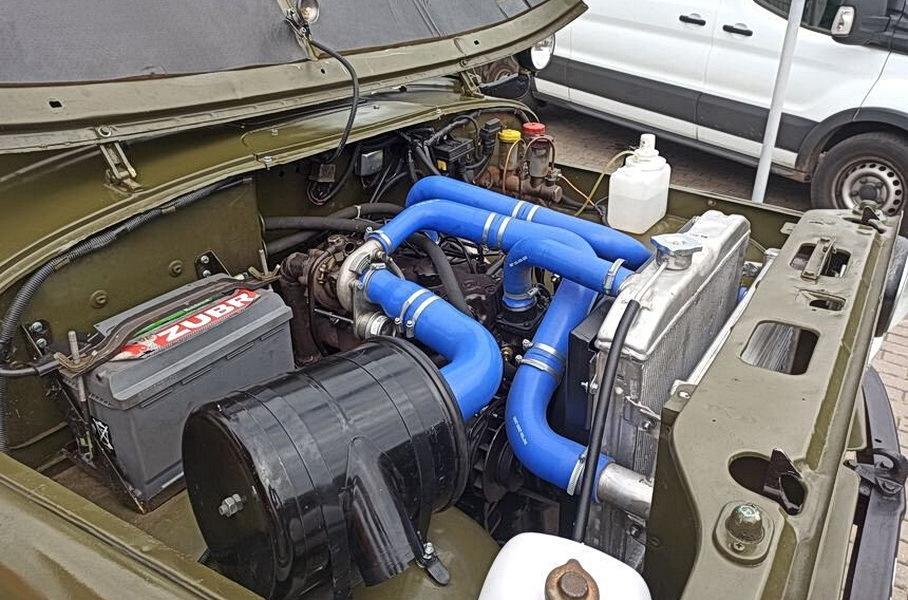 В Белоруссии стали ставить на УАЗы новый легковой турбодизель