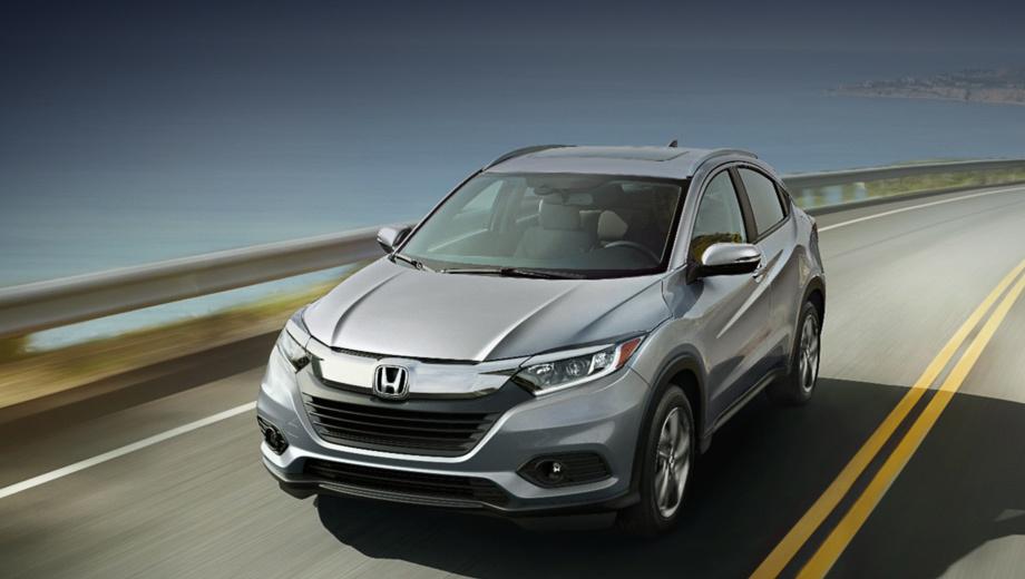 Кроссовер Honda HR-V лишили ручной коробки передач