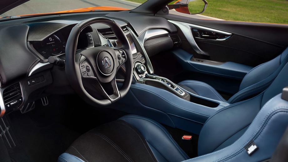 Спорткар Acura NSX обогатился для нового модельного года