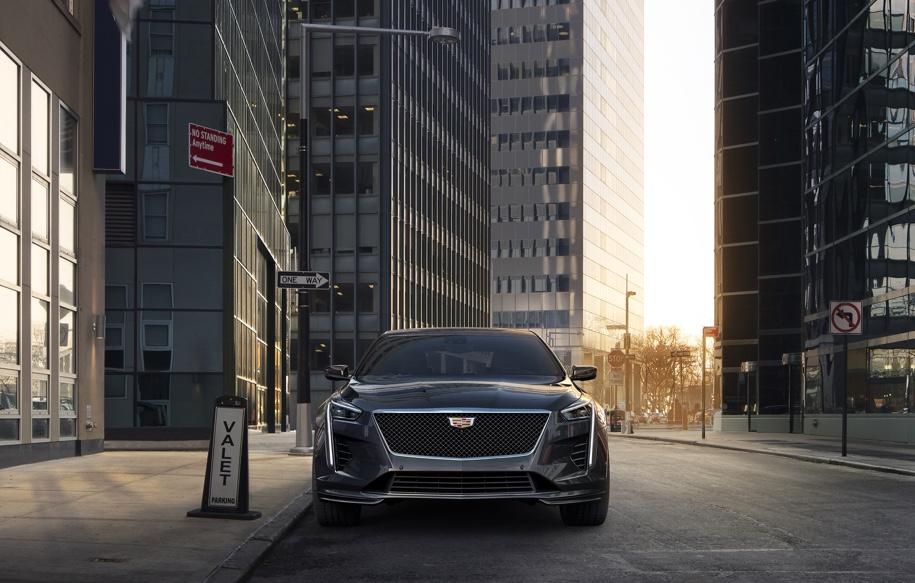 Обновленный седан Cadillac CT6 V-Sport получил новый 4,2-литровый двигатель