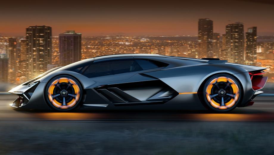 Новый гиперкар Lamborghini LB48H сможет светиться в темноте