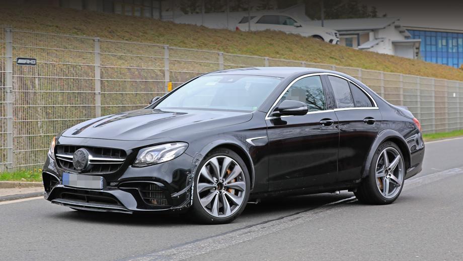 Mercedes-Benz вывел на тесты таинственную новинку