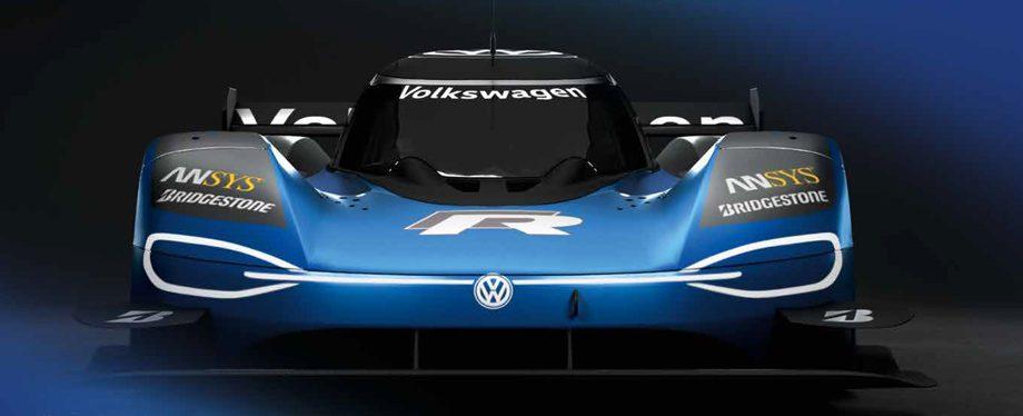 Обновленный электрокар Volkswagen ID. R прошел тесты на Нюрбургринге