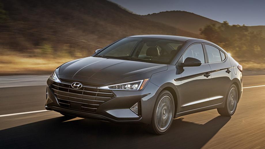 Компания Hyundai слегка обновила седан Elantra