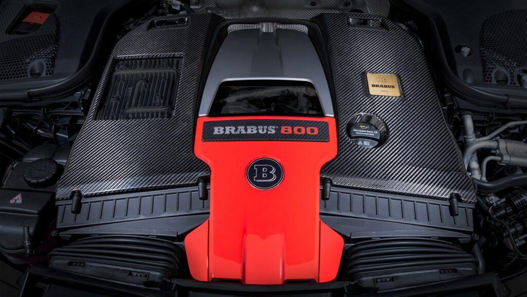 Тюнеры Brabus построили 800-сильный Mercedes-AMG GT