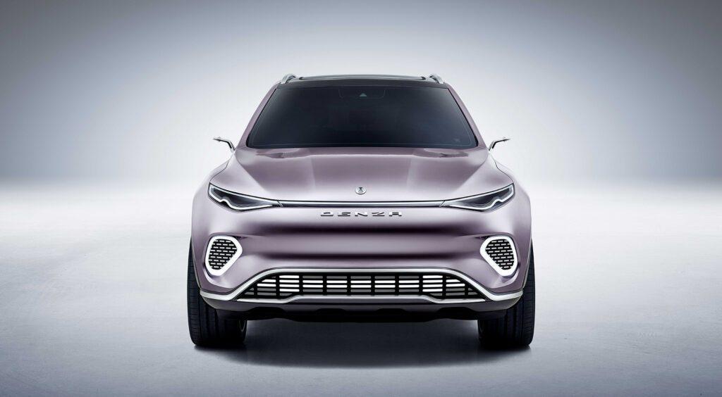 Mercedes-Benz показал дизайн для нового электрического кроссовера