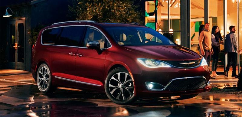 В России объявлен отзыв 45 автомобилей Chrysler Pacifica