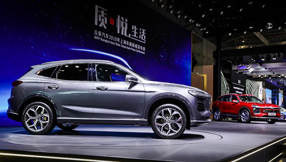Zotye может начать продажи в России авто китайской сборки