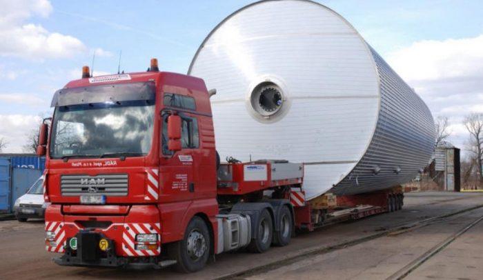 Перевозки негабаритных грузов автомобильным транспортом по России и странам СНГ