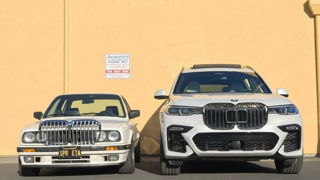 Компания BMW показала эволюцию радиаторной решетки за 35 лет