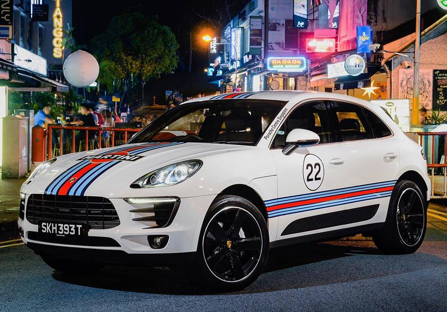 Кроссоверы Porsche Macan «одели» в классические гоночные ливреи