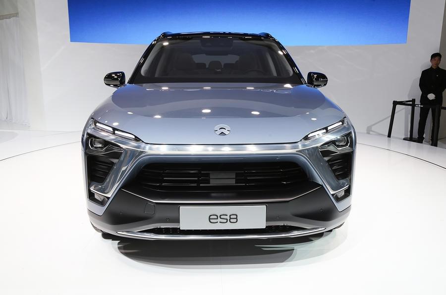 Стартовали продажи нового электрического внедорожника Nio ES8