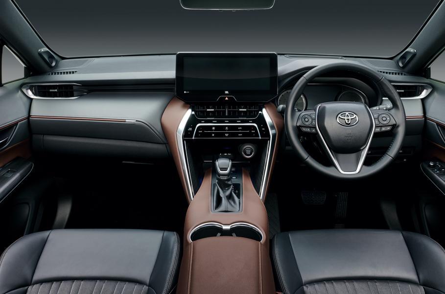Toyota презентовала новое поколение кроссовера Toyota Harrier
